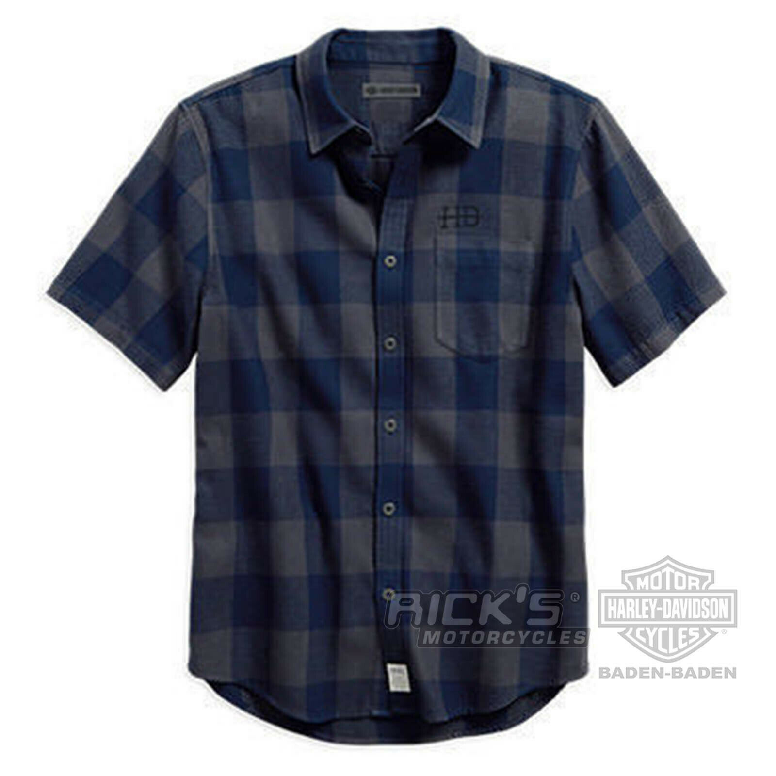 Orig. Harley-Davidson Men's Leisure Shirt 96163-18VM