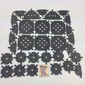 Knex Panels Lot K/'NEX Parts Mixed Silver Triangle Square Base Platform