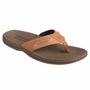 NEW-Men-039-s-Sperry-Pensacola-II-Top-Sider-Thong-Flip-Flops-Sandals-Tan-Pick-Size