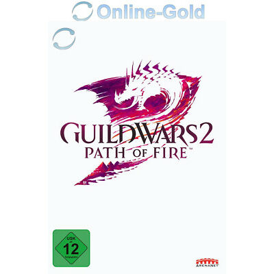 Guild Wars 2 Path of Fire - GW II Add-on DLC Key - PC Online Game Code [DE/EU]