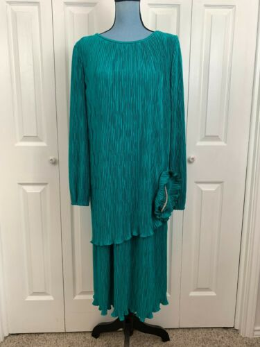 Vintage 1980's 1990's After Dark Crushed Pleated L