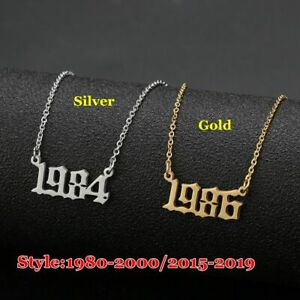 Jahr-Nummer-Anhaenger-Halskette-Spezielles-Geburtsdatum-1980-bis-2019