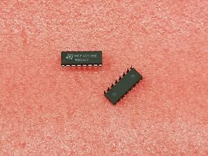 5X-ST-MICRO-HCF4053BE-ANALOG-MUX-TRIPLE-2-CHANNEL-CMOS-DIP16