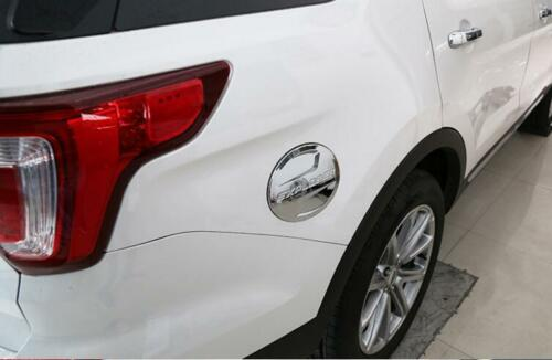 ABS chrome fuel tank cover oil gas cap cover trim FitFor Ford Explorer 2011-2017