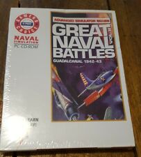 Great Naval Battles Vol II Guadalcanal 1942-43 BOXED CD Simulation Ship SEALED