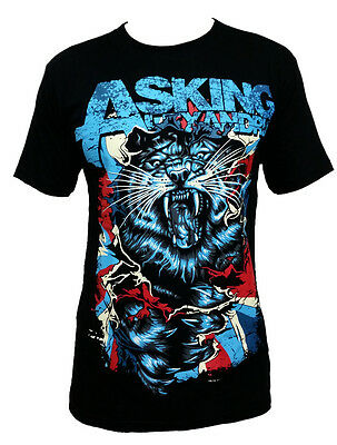 ASKING ALEXANDRIA Tiger Metal Rock Band Music Unisex Tee T-Shirt Size S M L XL
