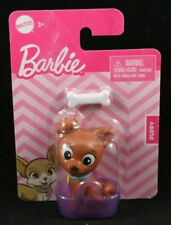 Barbie Pets Lot Of 3 Puppy Bunny /& Kitten Basket /& Accessories NIP Free SHIPPING