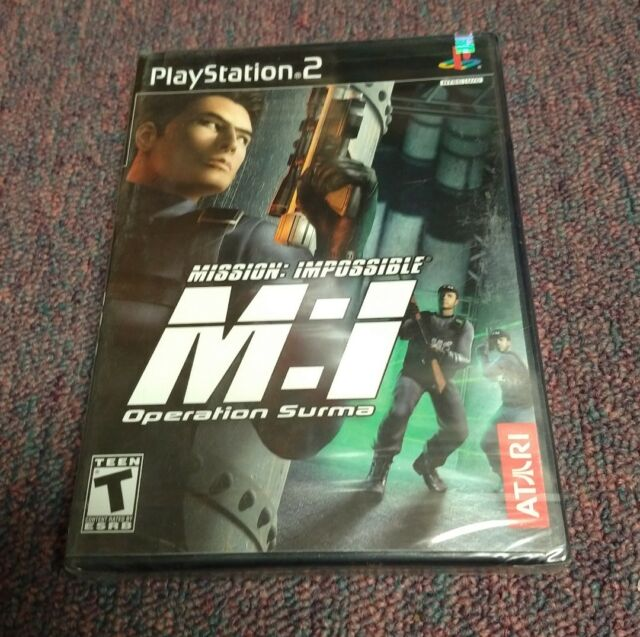 Mission Impossible Operation Surma (Playstation 2)