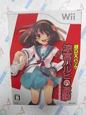 Wii Suzumiya Haruhi no Gekidou DX Pack With Revoltech Haruhi Suzumiya Figure
