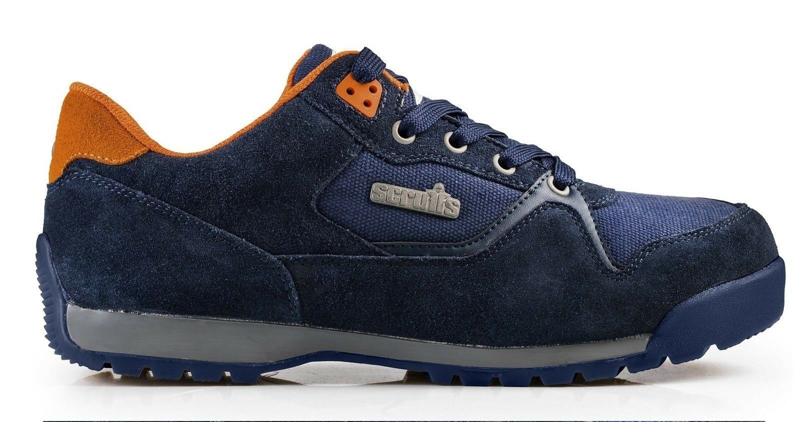 Scruffs Work HALO 2 Safety Trainers Navy (Talla 7-12) Hombre Work Scruffs Zapatos Steel Toe Cap 658b4d