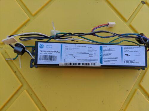 GE LED DRIVER 100w multivolt input dimming  GELD100MV480PVNA