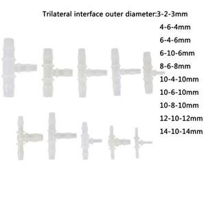 1Pc-Te-en-plastique-raccord-tuyau-flexible-3mm-14mm-3-voies-T-forme-a-ardillon