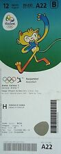 TICKET M 12.8.2016 Olympic Rio Basketball Men's USA - Serbia # A22