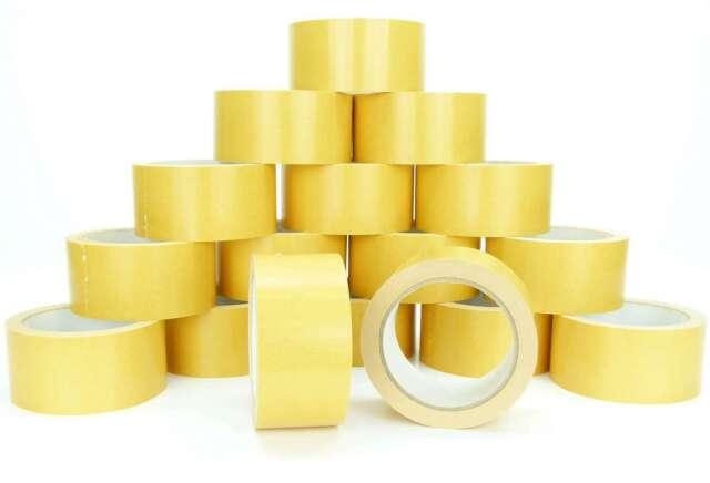 1 - 144 Doppelseitiges Klebeband 50mm x 25m Beidseitiges Verlegeband Teppichband