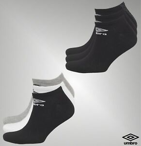 b846f3515912 3 Pack Mens Umbro Everyday Comfort No Show Trainer Liner Socks Size ...