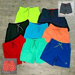 82cee9d3e1 Image is loading Primark-Boys-California-Surf-Swimming-Swim-Shorts-Trunks-
