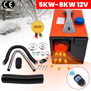 8000W 5KW-8KW 12V LCD Calentador de aire Diesel Air Heater For Lorrys Boats Bus