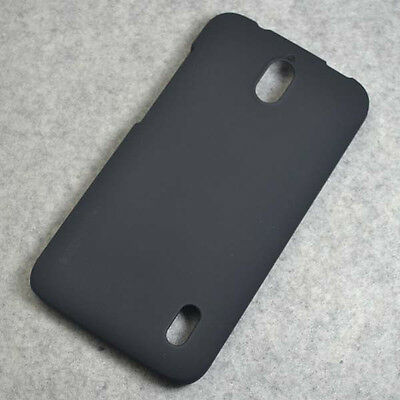 For Huawei Ascend Y625 New Black Rubberized Hard case cover