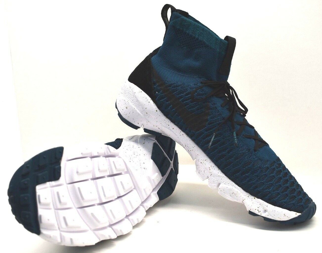 Nike air footscarpe magista fk fc mezzanotte turq blk noi sz la libera navigazione nuovi
