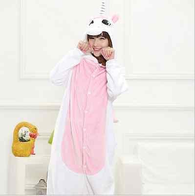 Unicorn Unisex Adult Children Pajamas Kigurumi Cosplay Onesie Sleepwear Shoes