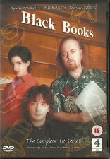 BLACK BOOKS Complete Series 1 DVD Channel 4 comedy Bill Bailey Dylan Moran C4