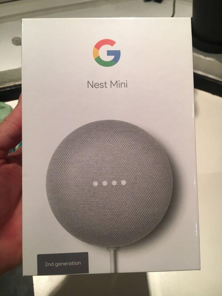 Højttaler, Andet mærke, Google Nest Mini 2. generation