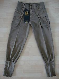 mia New Belstaff Montagne etichetta Tuyau Pantaloni Gr Neu Country Brown La Lady Lady 36 77Udrq