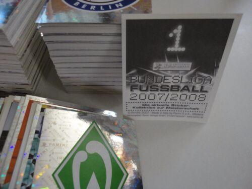 FUSSBALL BUNDESLIGA 2007-08 Figurina Sticker n BOCHUM -New LASTUVKA 71