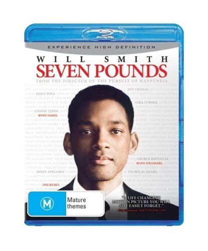 1 of 1 - Seven Pounds (Blu-ray, 2009)