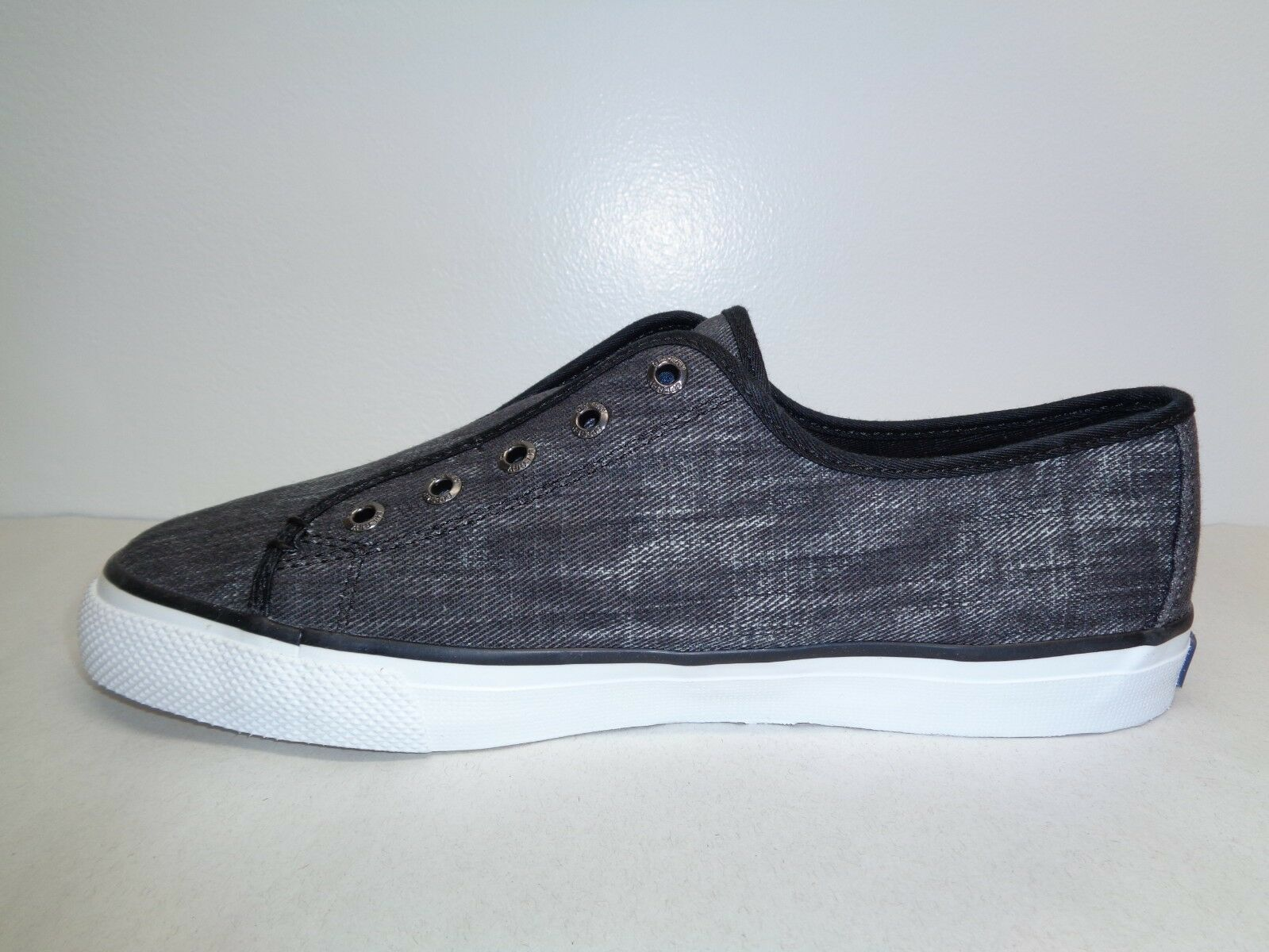 Sperry Sperry Sperry Top Sider Size 8 M SEACOAST RIPSTOP Black Sneakers New Womens shoes d04266
