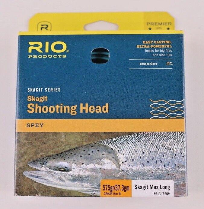 Rio Skagit Max grano largo 575 cabeza de disparo rápido Envío Gratis 6-20774