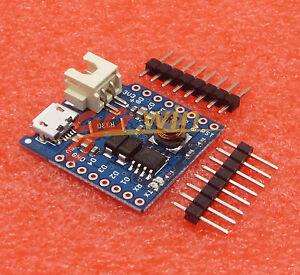 Batterie de bouclier pour WeMos D1 Mini Unique Lithium Battery Charging Board