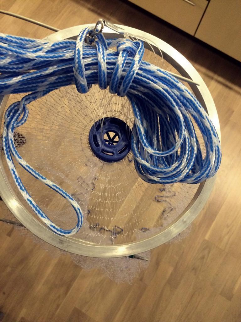 No. 6, Fishnet 3,66m diameter, Newest Mole Network Model, Cast Net, Fishing Net, Net