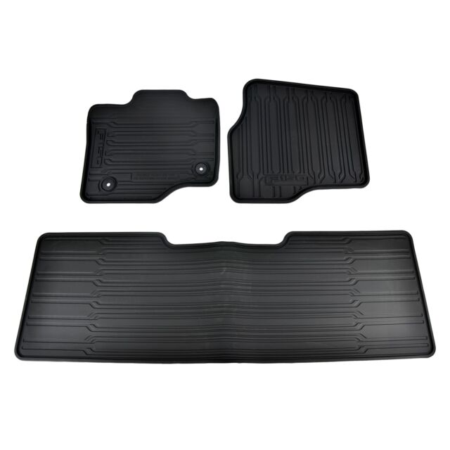 New Oem   Ford F  Super Cab All Weather Contour Floor Mats