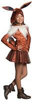 Girls Deluxe Eevee Hoodie Dress Costume Pokemon Size Small 4-6