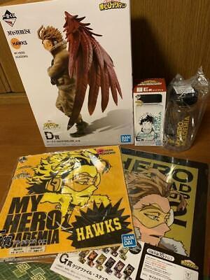 Hawks Figure Prize D E F G 4Set Lottery Ichiban Kuji My Hero Academia I/'m Ready