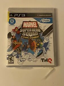 NEW SEALED PS3 uDraw Marvel Super Hero Squad: Comic Combat - Playstation 3 Game