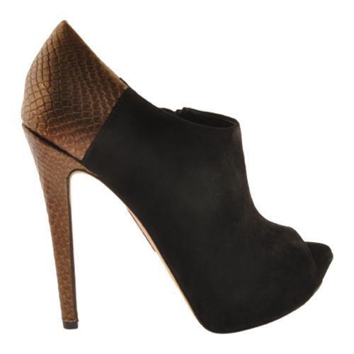 Boutique 9 botas Colton Negro Peep Toe Toe Toe Suede Botines Zapatos Talla 10 Nuevo  bajo precio