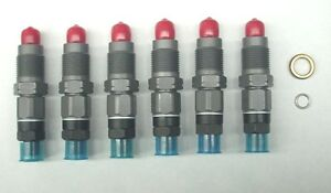Details about NEW DIESEL FUEL INJECTORS - SUITS TOYOTA LANDCRUISER 100  SERIES 1HZ 4 2L