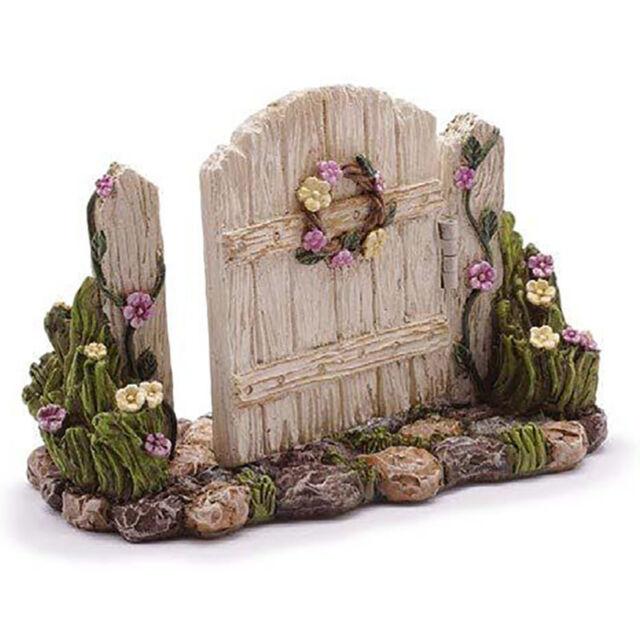 Arched Stone Gateway Miniature Dollhouse FAIRY GARDEN Accessories