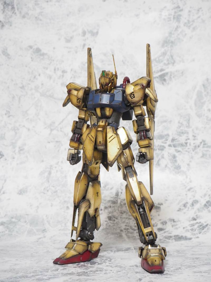 Built and and and Tastefully Weathered MG 1 100 Hyaku Shiki 2.0 Model KIT 8dfd69