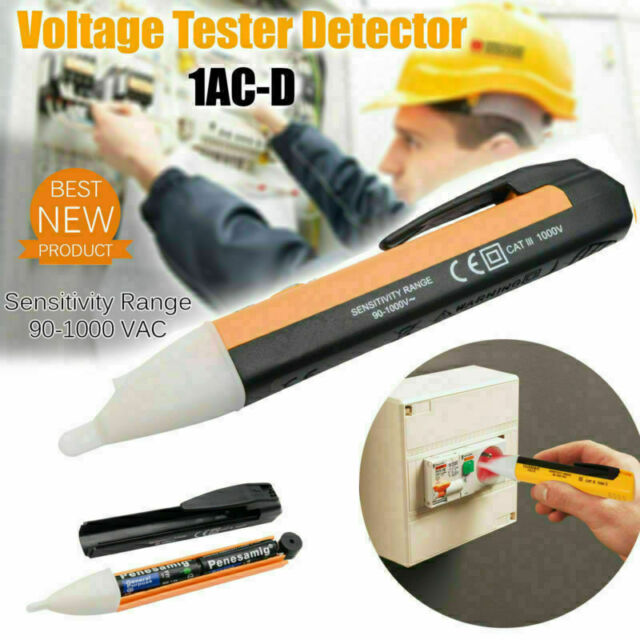 HUAQI Non-Contact Induction Test Pen Safety Multi Function LED Light UK Seller