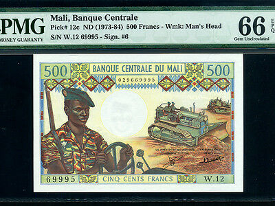 Central Africa 500 Francs 1985 P14 84# Bank Currency Paper Money Banknote