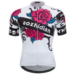 Rose Women s Cycling Shirts Ladies Bicycle Bike Cycle Short Jersey ... dbbaba757
