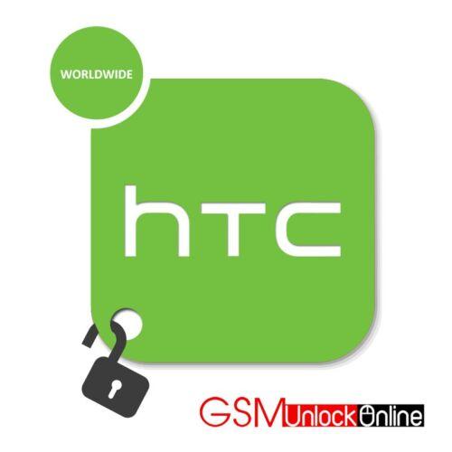 réseau Code déverrouillage service pour HTC Desire 310 700 815 510 610 M9 M8 E8
