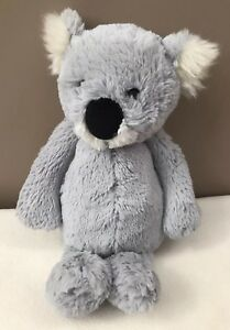 Jellycat-Medium-Bashful-Koala-Bear-Comforter-Baby-Soft-Toy-Retired-Rare