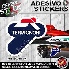 Adesivo/Sticker TERMIGNONI REPARTO CORSE DUCATI HONDA  200°gradi EXAUST SCARICO