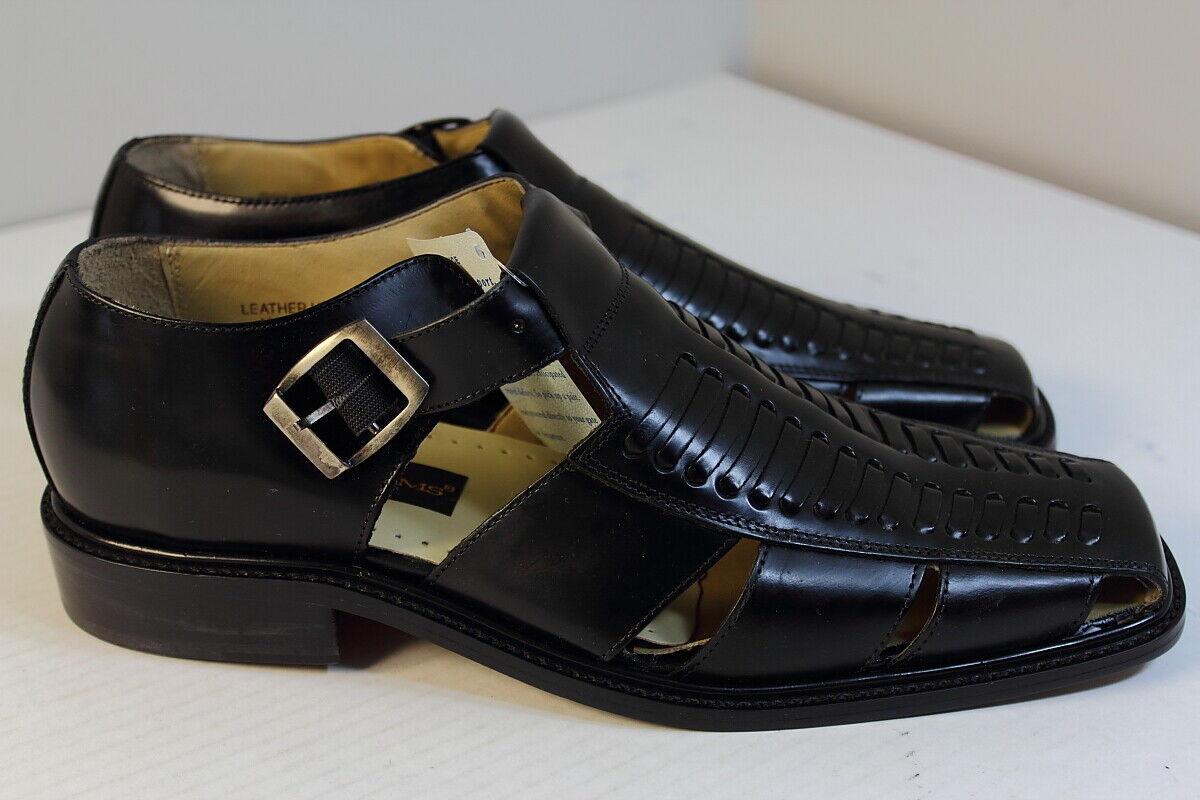 Stacy Adams M23908 01 shoes Sandals Men Size 10