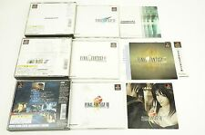Final Fantasy VII VIII IX FF 7 8 9 Set PS1 SQUARE Sony Playstation Japan USED