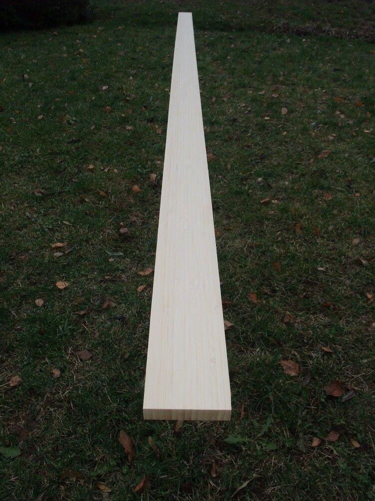 Bogenrohling aus Bambus natur für Flach- Langbogen  2000 x 45 x 15-30mm 78 Zoll